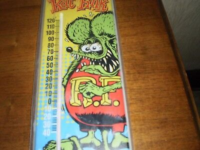 Brand New Rat Fink Unopened Thermometer 19 And 1/2 Inches Long