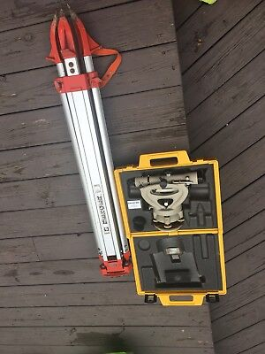 Berger Instruments Model 327 With Stand Tool Lot Surveyor Transit Level