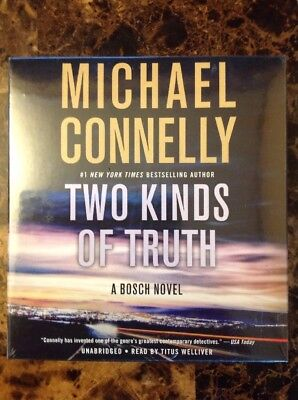 Two Kinds Of Truth By Michael Connelly (2017, CD, Unabridged)