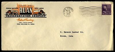 Advertising Cover Petroleum & Freight Transporters 1944 Des Moines Iowa