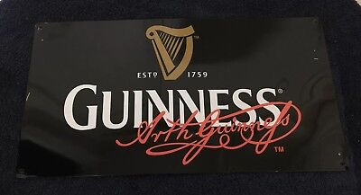 Collectible Advertising Guinness Beer Tin Sign