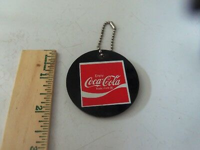 Vintage Coca Cola Keychain Fob Super Tower Paul Flum  - New / Old Stock