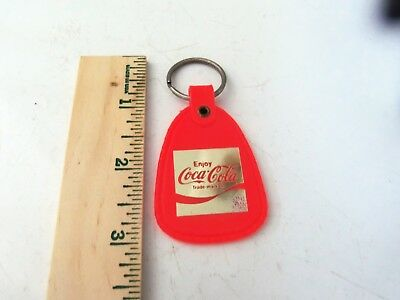 Vintage Coca Cola Keychain Fob - New / Old Stock