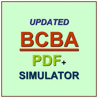 BACB Board Certified Behavior Analyst Test BCBA Exam QA PDF+Simulator