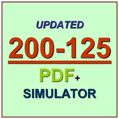 CCNA Cisco Certified Network Associate Test 200-125 V3.0 Exam QA PDF+Simulator