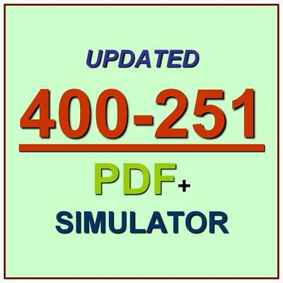 Cisco CCIE Security Written Exam Lab Exam v5.0 400-251 Test Exam PDF+Simulator