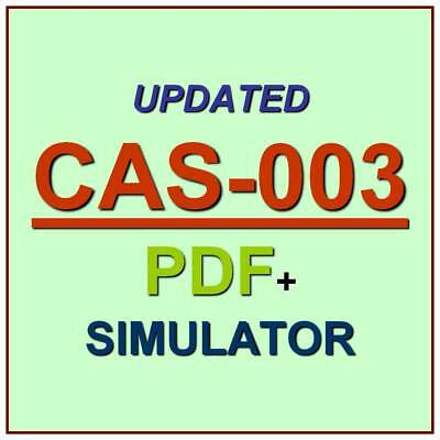 CompTIA Advanced Security Practitioner CASP Test CAS-003 Exam QA PDF+Simulator