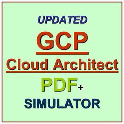 Google Cloud Certified Professional Cloud Architect Test GCP Exam QA PDF+SIM