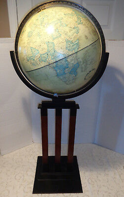 "Replogle Globe 16"" World Classic On Floor Stand 42"" Tall In Great Condition."