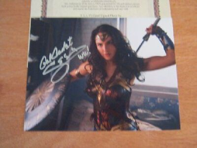 Gal Gadot - Wonder Woman Star - Hand Signed  Photo With Coa