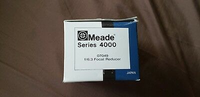 Meade Series 4000 f/6.3 Focal Reducer/Field Flattener Multi-Coated MADE IN JAPAN