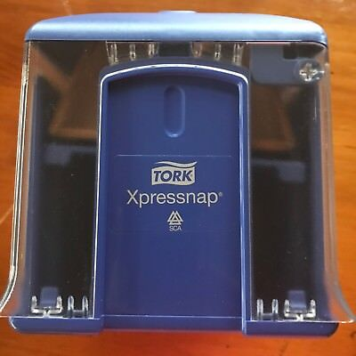 Tork Xpressnap Tabletop Napkin Dispenser with AD-A-Glance Feature A1