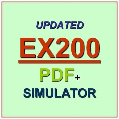 Red Hat Certified System Administrator (RHCSA) Exam Test EX200 QA PDF+Simulator