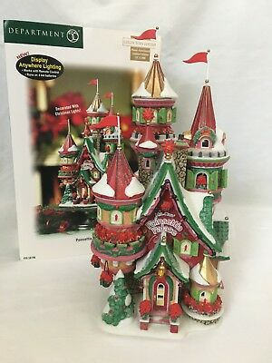Dept 56 North Pole Series Poinsettia Palace