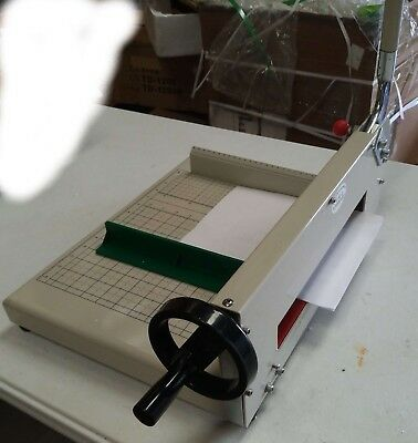 Open Box! A4 Size Guillotine Stack Paper Cutter/ Trimmer