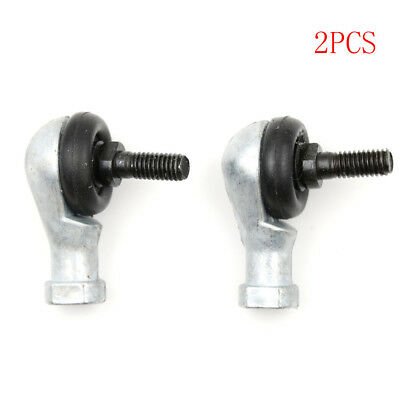 2pcs Free Shipping SQ6 RS 6mm Ball Joint Rod End Right Hand TieRodEnds BearingLD
