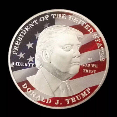 2019 Donald Trump Silver Eagle Coin Make America GREAT Again 45th President New