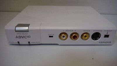 Canopus ADVC-110 Professional Analog to Digital Video Converter - VHS / DV /Tape