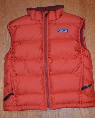 Patagonia Kids Size S Brick Red Sleeveless Vest Style 68341F5
