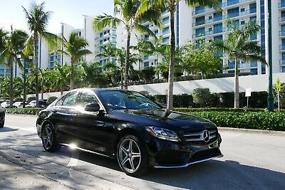 2017 Mercedes-Benz C-Class  2017 Mercedes C 300 4matic AMG paketge loaded!, only 15kmiles