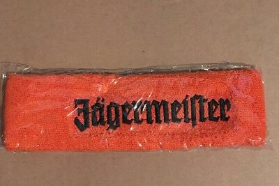 Genuine Jagermeister Headband Fashion Workout Party Alcohol Drinking Fun!