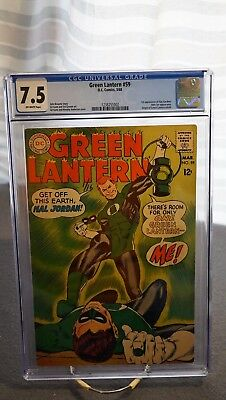 Green Lantern #59 - Cgc 7.5 - Off-White Pages
