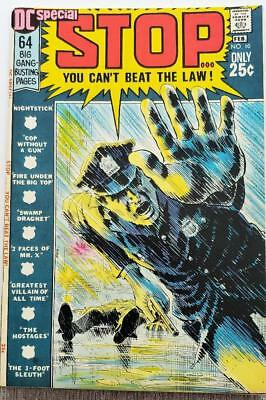 * DC Special 10 (NM 9.4) STOP in the name of the Law ORIGINAL Owner Collection *