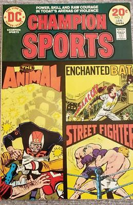 * CHAMPION Sports #2 (NM+ 9.6) 20c DC ORIGINAL Owner Collection *