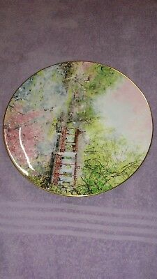 Royal Doulton REFLECTION OF CHINA Garden of Tranquility Plate with Hanger