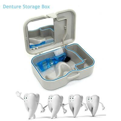 Orthodontic Denture Box Container Tooth Storage Case False Teeth Retainer Basket