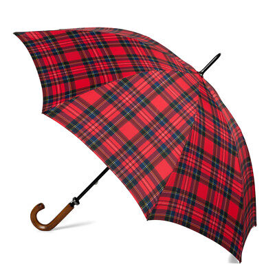 NEW Clifton Gents' Fibreglass Red Royal Stewart Umbrella