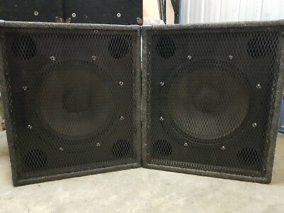 Fane colossus 18b-600 600 W AES Continuous SUBS x 2 made in England