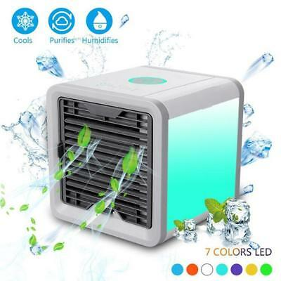 Air Personal Evaporative Cooler Portable Conditioner Humidifier Mini Fan Cooling