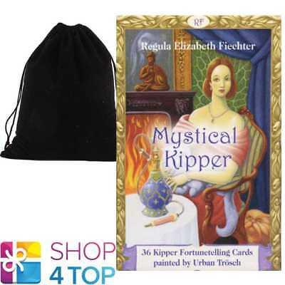 Mystical Kipper Oracle Deck Cards Regula Elizabeth Fiechter Agm With Velvet Bag
