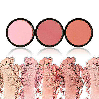 Women Single Color Matte No Smudge Cheek Blush Makeup Powder Palette Hot Sale