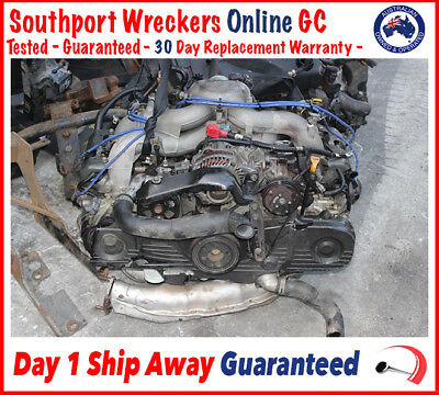 Subaru Liberty / Outback EJ25 Single Cam Engine 2.5 - 90 Day Warranty - 94 000ks
