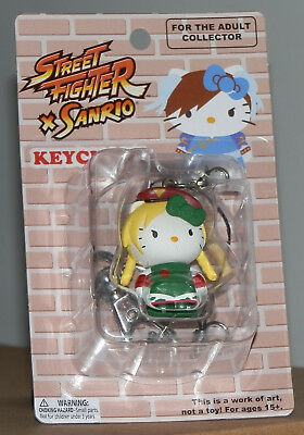 Street Fighter X Sanrio Mobile Key Chain: Cammy.