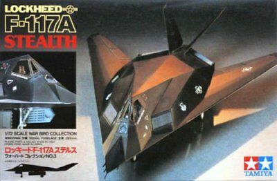 Tamiya 60703 1/72 Lockheed F-117 Stealth Nighthawk Model Kit 60703
