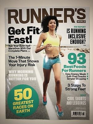 Runner's World Magazine - August 2018