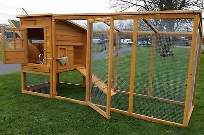 Large Cocoon Chicken Hen House Coop Poultry Ark Run Brand New