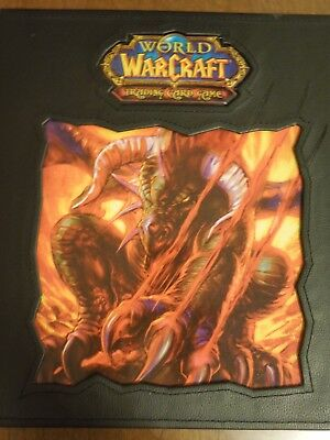 WOW TCG World of Warcraft  Raccoglitore Binder Onyxia Raro