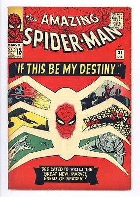 Amazing Spider-Man #31 Vol 1 Near Perfect High Grade 1st Appearance Gwen Stacy