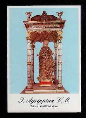 Santino Holy Card - S.AGRIPPINA V.M. MINEO CATANIA