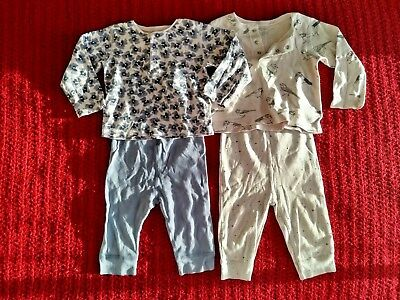 Baby girls PJ bundle 6-12 months (Mama & Papas/ 4 items)