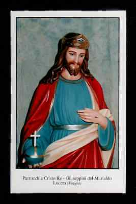 Santino Holy Card - CRISTO RE LUCERA FOGGIA