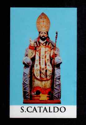 Santino Holy Card - SAN CATALDO