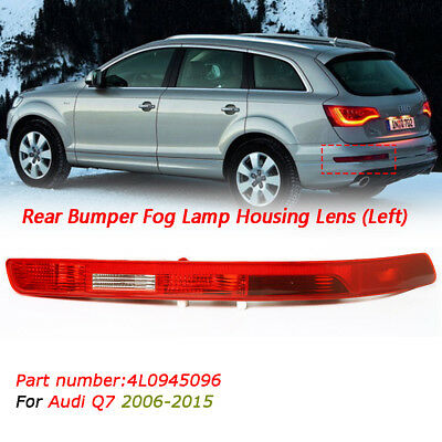For Audi Q7 2006-2015 Rear Lower Bumper Tail Light Lamp Passenger Side N/S Left