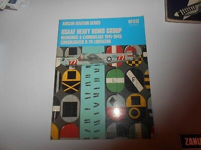 Aircam Aviation Serie Usaaf Heavy Bomb Group Camouflage 1941 1945
