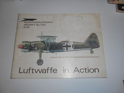 squadron signal publications aircrat luftwaffe in action