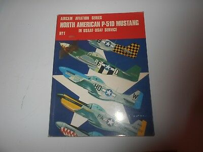 Aircam Aviation Serie N1 North American P 510 Mustang In Usaaf Usaf Service